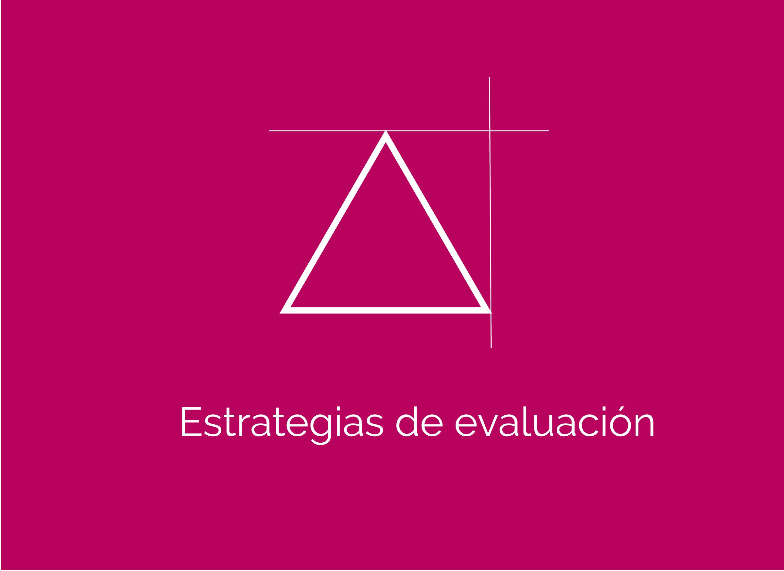 Medición y evaluación de los aprendizajes